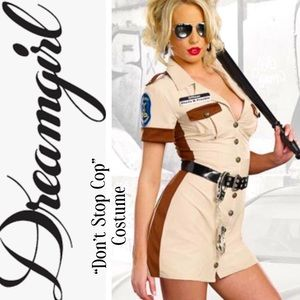 """Dreamgirl """"Don't Stop Cop"""" Adult Halloween Costume"""